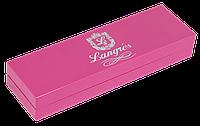 """Ручка кулькова """"Love"""", з кристалами, рожевий, в подарунковому футлярі"""
