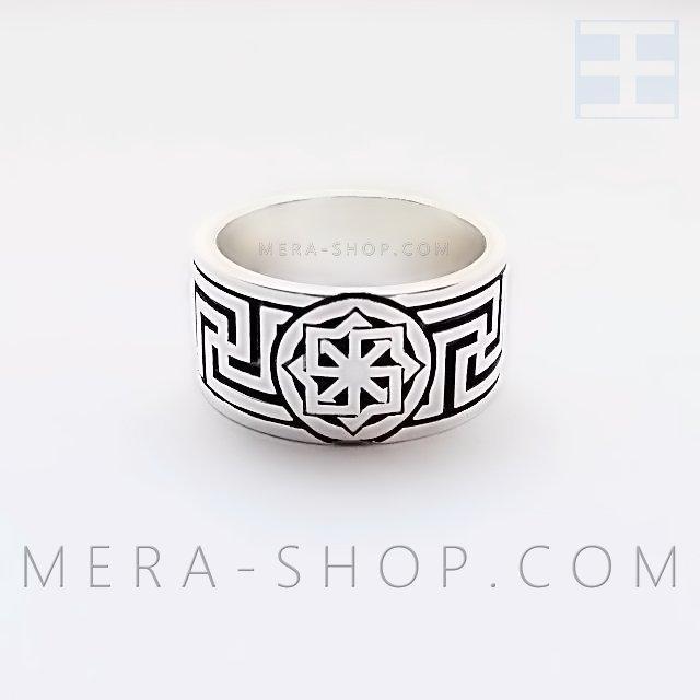Молвинец Рысич кольцо оберег из серебра