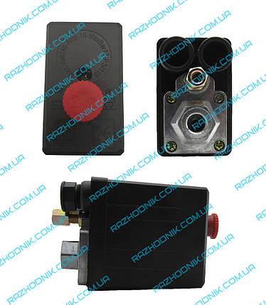 Реле давления для компрессора (Автоматика) (1 Выход), фото 2