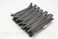 Зажим для волос пластиковый, 12 шт (черные ,цветные)