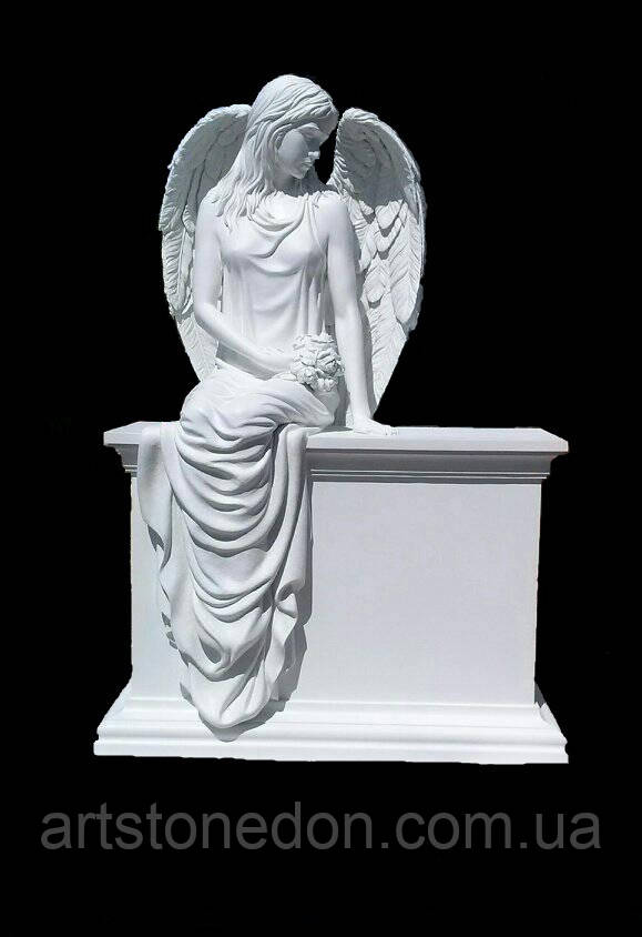 Скорбящий ангел картинки фото надгробных памятников из гранита у человека