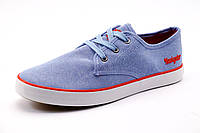 Спортивные мокасины Navigator мужские, текстиль, голубые, р. 41 42 43 44 45 46