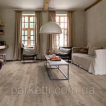 Quick-Step BACL40026 Дуб Котедж, коричнево-сірий, вініловий підлогу Livyn Balance Click
