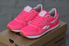 Женские кроссовки Reebok розовые, фото 3