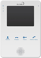 Видеодомофон Slinex MS-04М White / Black