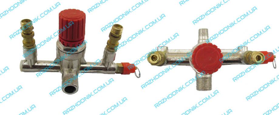 Контрольно распредилительный блок для компрессора (Рога), фото 2
