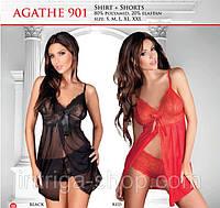 Эротическая ночная сорочка и стринги Agathe