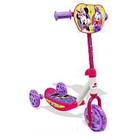 Самокат трехколесный Minnie Mouse - Smoby - Франция - с силиконовыми колесами и мягкими резиновыми ручками