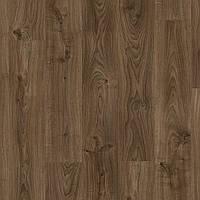 Quick-Step BACL40027 Дуб Коттедж, темно-коричневый, виниловый пол Livyn Balance Click, фото 1