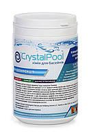 Химия для бассейна Crystal Pool Slow Chlorine Tablets Large 1 кг, фото 1