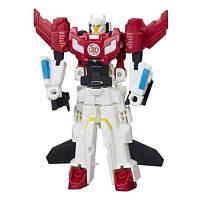 Hasbro TRA Трансформеры Роботс-ин-Дисгайс: Крэш-Комбайнер Skysledge I Stormhammer