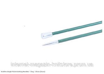 Спицы прямые Zing KnitPro | 35 см | 3 мм