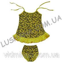 Комплект для девочки Варенька на рост 92-98 см - Кулир