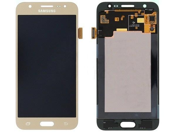Дисплей с тачскрином, для Samsung Galaxy J5 SM-J500H gold, GH97-17667C