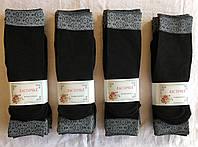 Капроновые носочки 80d с узором тм Ласточка чёрные