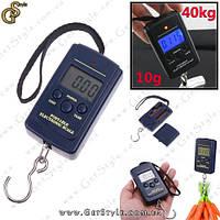 """Электронные весы безмен - """"Electronic Scale"""" - 40 кг х 5/10 г с батарейками"""