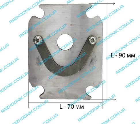 Пластина   для компрессора, фото 2