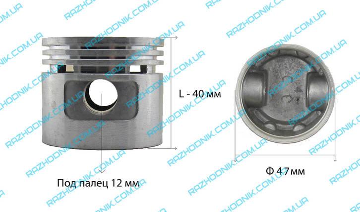 Поршень  для компрессора Ф47, фото 2