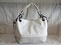 Женская сумка HSN белого цвета