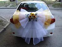 Украшение свадебного авто