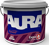 Краска акриловая AURA FASAD EXPO фасадная белая-база А 20л