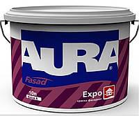 Краска акриловая AURA FASAD EXPO фасадная белая-база А 10л