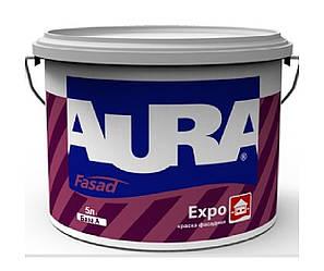 Краска акриловая AURA FASAD EXPO фасадная белая-база А 5л