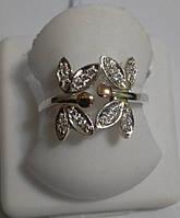 Колечко из серебра Весенние бабочки, фото 1