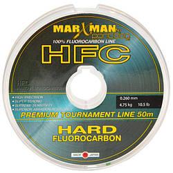 Леска Fluorocarbon Pontoon21 MarXMan HFC 0.380mm, 16,5lb, 7,5kg, 50m,