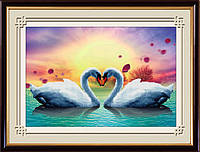 DOME LasKo Рисование камнями (5D-016) Лебединая песня