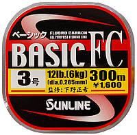 Флюорокарбон Sunline Basic FC 300м 0.26мм #2.5 10LB