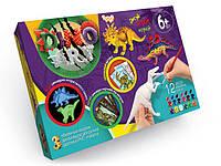 Danko Dino Art (DA-01-01) Набор для ручной росписи 3D моделей динозавров