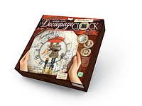 Danko Декупаж Часы (DKC-01-06) Мелодия дождя Decoupage Clock