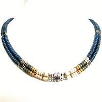 Колье, браслет,серьги - керамика спектр