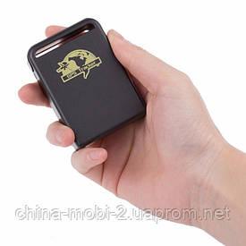 Персональный GPS трекер TK102B, GSM GPRS универсальный автономный маяк с микрофоном и кнопкой SOS