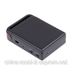 Персональный GPS трекер TK102B, GSM GPRS универсальный автономный маяк прослушка, с микрофоном и кнопкой SOS, фото 3