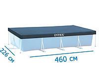 Тент для прямоугольного бассейна 460 х 226 см Intex 28039