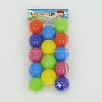 "Шарики для сухого бассейна диаметром 6 см, в кульке 14 шт. ""M-TOYS"""
