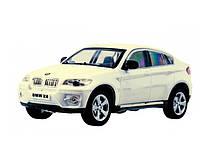BMW X6 белый машинка на управлении 1:43