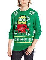 Свитшот Peanuts Minions Holidays, Kelly Green