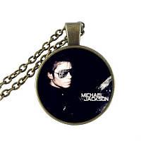 Кулон на цепочке Майкл Джексон
