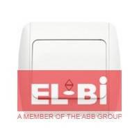 Выключатель 1-клавишный проходной белый EL-BI Zirve Fixline 501-010201-209