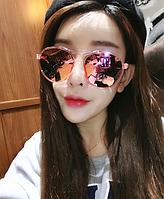 Женские очки с розовыми линзами