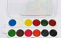 Краски акварельные 12цв картон KITE 061