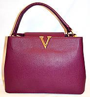 Женские БРЕНДОВЫЕ сумки и саквояжи Louis Vuitton (ФУКСИЯ)