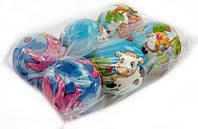 Мяч фомовый RU 466-739 (50) большой, 6шт в упаковке 9,5 см