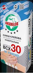 Клей для плитки универсальный  «ВСХ-30» UA-Standart