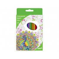 Карандаши цветные Kite 18 цветов K17-052-4  Антистресс
