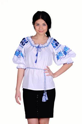 Блуза женская Ружа синяя