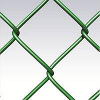 Сетка рабица оц/пвх 50х50х1,65/2,5(1,5х10), фото 1